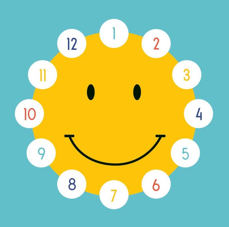 Beloningskaarten met grote stickers - Smiley - Topkwaliteit