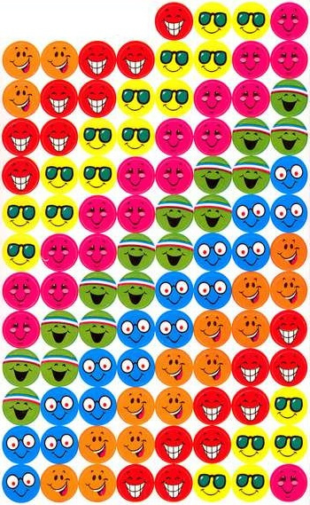 Happy Smiles - 100 Stickers