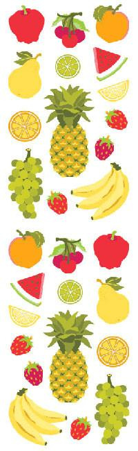 Fruit - 28 Stickers