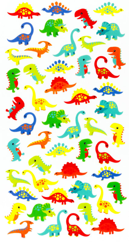 Baby Dino's -  50 Stickers