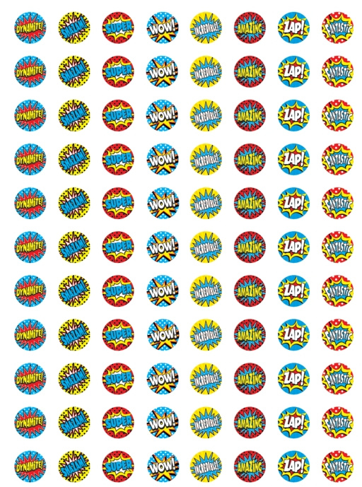 Dynamite! Comic - 88 Stickers