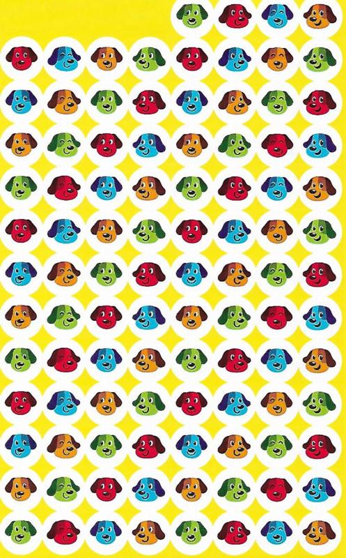 Puppy Vriendjes - 100 Stickers