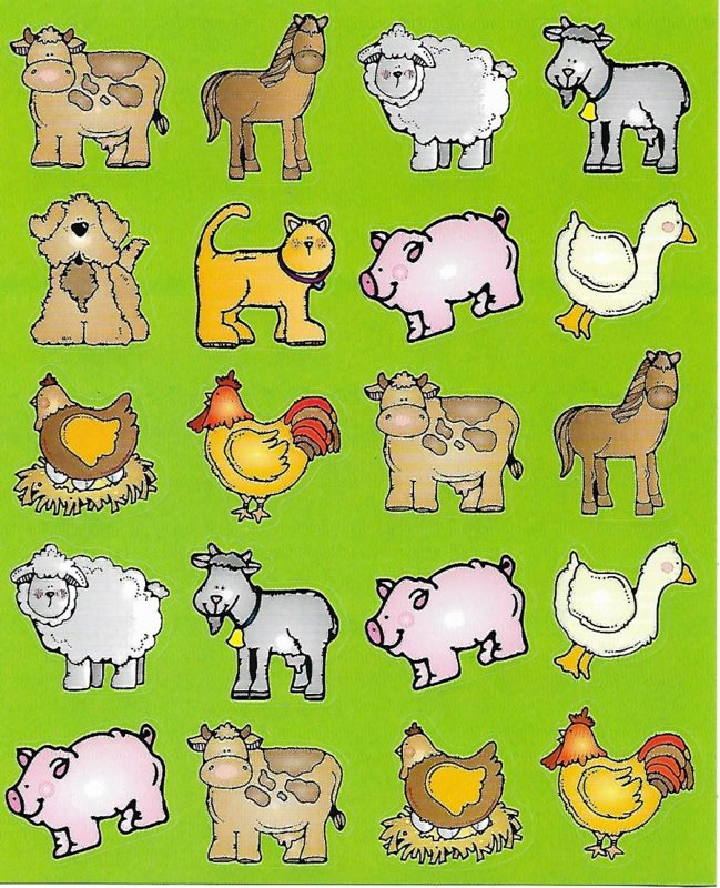 Farm Friends - 20 Stickers