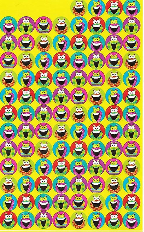 Kikkervriendjes - 100 Stickers