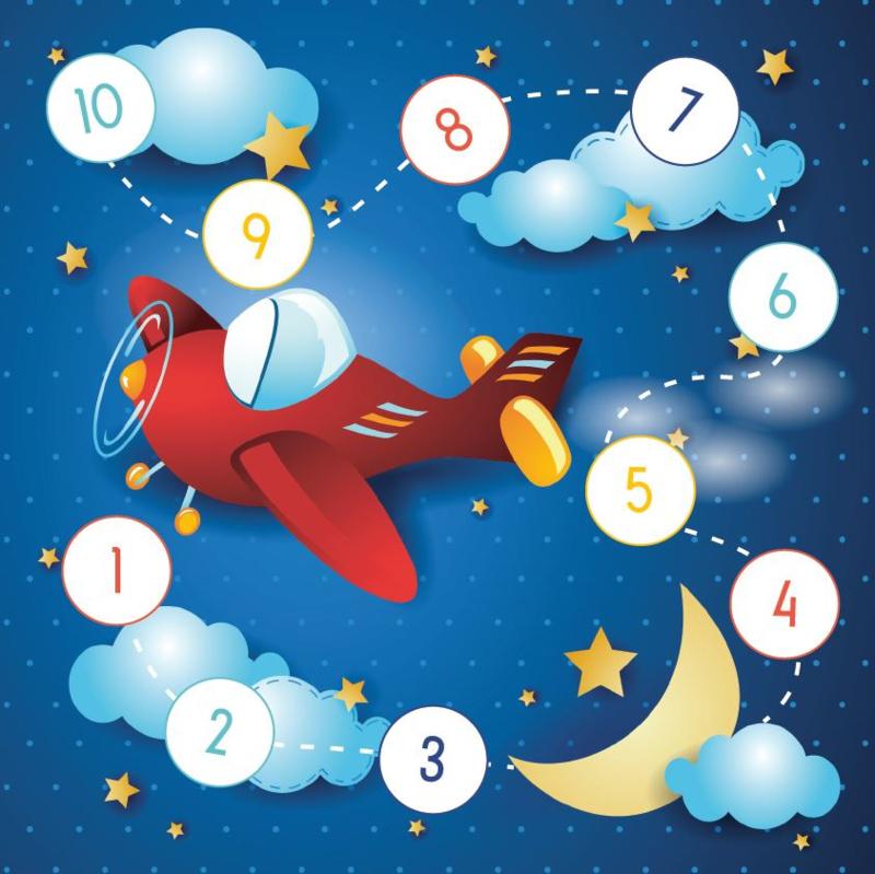 Beloningskaarten met grote stickers - Vlieg door de sterren - Topkwaliteit