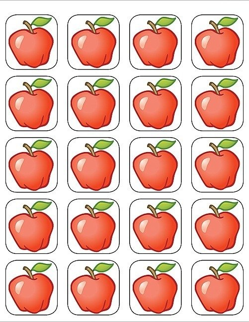 Appels - 20 Stickers