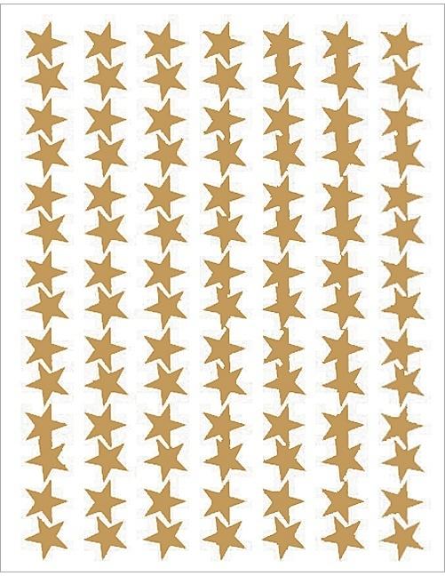 Gouden Sterren Stickers - 98 Stickers