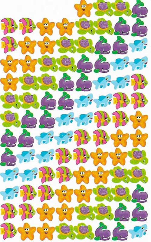 Leven onder Water - 100 Stickers