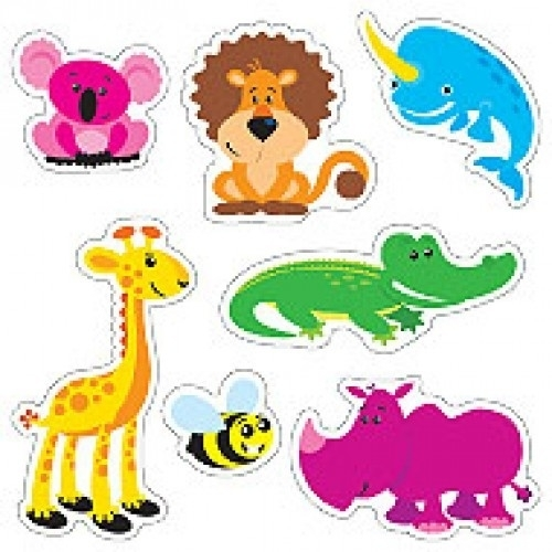 Dierenpret - 20 Stickers
