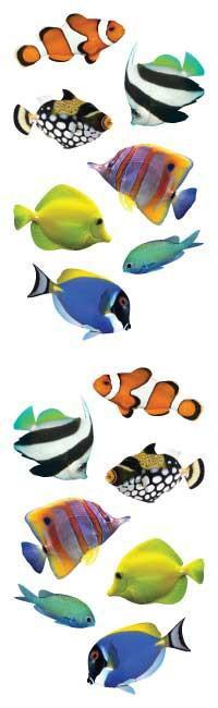 Tropische Vissen - 14 Stickers