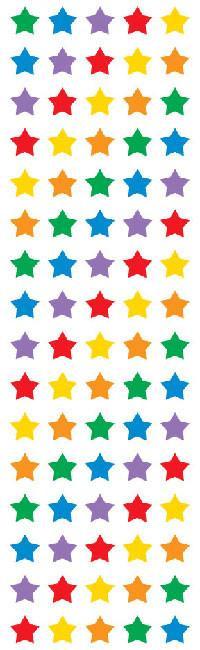 Micro Sterren - 80 Stickers