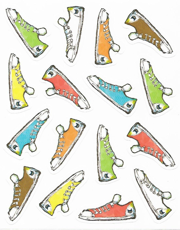 Sneakers  - 16 Stickers