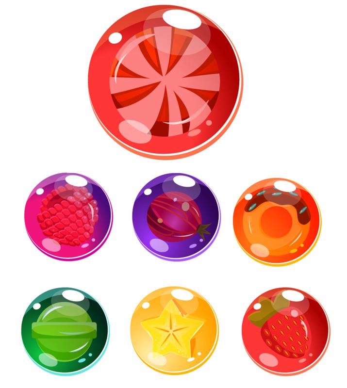 Beloningssysteem Snoepjes met stickers - Complete Set