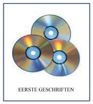 Eerste Geschriften. ( Op CD - MP3 )