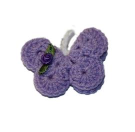 Broche | Vlinder Lila