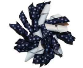 Loopsy | Donkerblauwe Stip