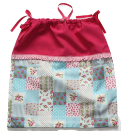 Pyjama-zak | Fuchsia Roosjes