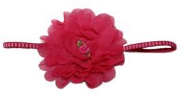 Haarband | grote bloem