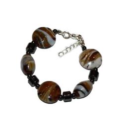 Dames-armband | Bruin