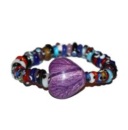 Armband |  Funcolors hart