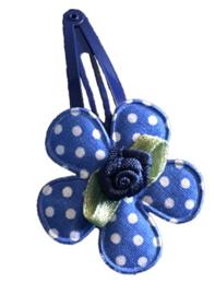 1 knipje | Bloem blauw