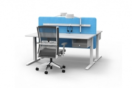 Haworth Elektrisch Bureau Zit/Sta Duo Your Place (140x80)