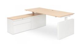 Voortman Elektrisch Bureau + Open kast (180x80)
