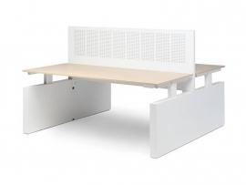 Voortman Elektrisch Bureau Hi Tee Duo Wang poot (160x80)