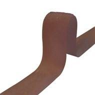 Klittenband, BRUIN, lus 2 cm naaibaar
