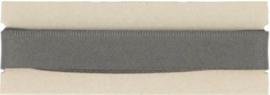 Broekstootband 15 mm grijs, 1,5m