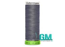 Gütermann allesnaaigaren rPET donker grijs 100 m