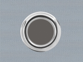 Ösenband, 100mm Grau