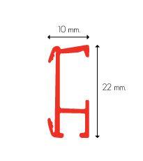 PF-Universalträger für Raffrollo Wandabstand 3 cm