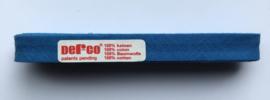 Biaisband blauw 12 mm katoen