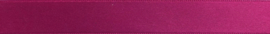 Satijnband 15 mm magenta- kleur 786