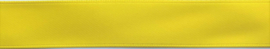 Satijnband 15 mm geel - kleur 64