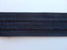 Universeelband/rimpelband  zwart