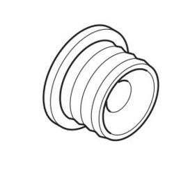 Kunststoff  Befestigungsclip für Klettschiene