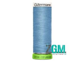 Gütermann allesnaaigaren rPET licht blauw 100 m