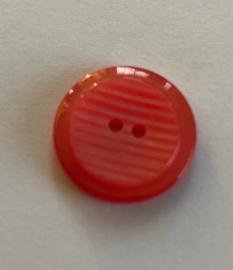 Knoop kunststof rood 18 mm