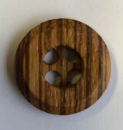 Knopf Holz gemischt 30 mm