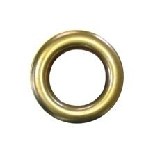 Zeilring rond 25 mm Messing