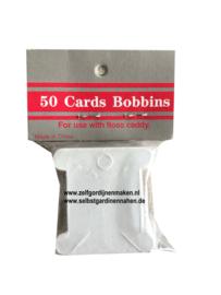 Wikkelkaarten 50 stuks