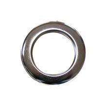 Zeilring rond 40 mm Nickel