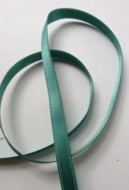 Satinband Dunkel grün 6mm