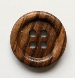 Knoop hout  gemêleerd 30 mm