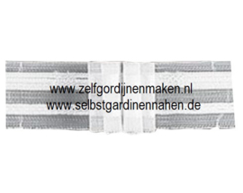 Raffrolloband Transparent F4, 18 mm