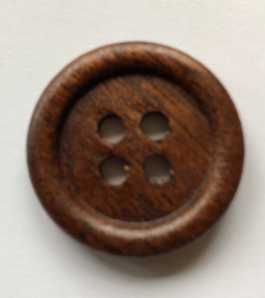 Knoop hout 28 mm