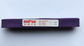 Biaisband paars 12 mm katoen - kleur 36