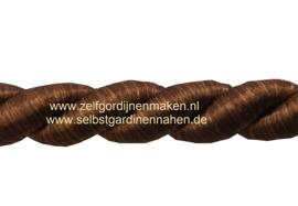 Kunstseidenkordel Braun 10mm